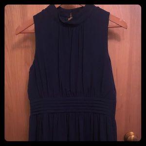 """ModCloth """"Windy City"""" Dress in Navy Blue. Size L"""